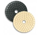 "5"" Granite & Marble Polishing Pad for Buffing, White"