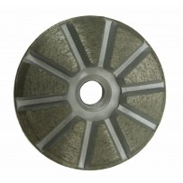 "3"" Metal Bond Diamond with 5/8-11"" Arbor, 16 Grit"