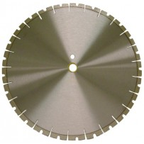 "14"" Supreme Masonry 14""x.125 x1""-20mm, 10mm rim, Notched Segment"