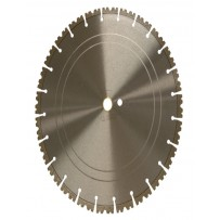 "14"" Crown Segment  Blade 14"" x .125 x 20mm, 12mm rim, TW segments"