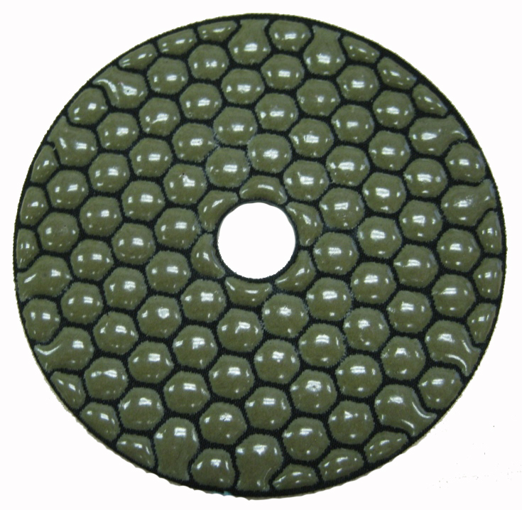 "4"" Dry Polishing Pads"