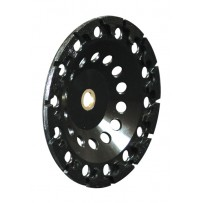 "4"" T-Seg Cup Wheel With Nut, 5/8-11"