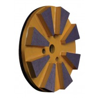 "4"" Grinding Disc Head, 7mm, 30-40 Mixed Grit"