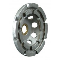 "5"" Standard Single Row Cup Wheel With Nut, 5/8-11"